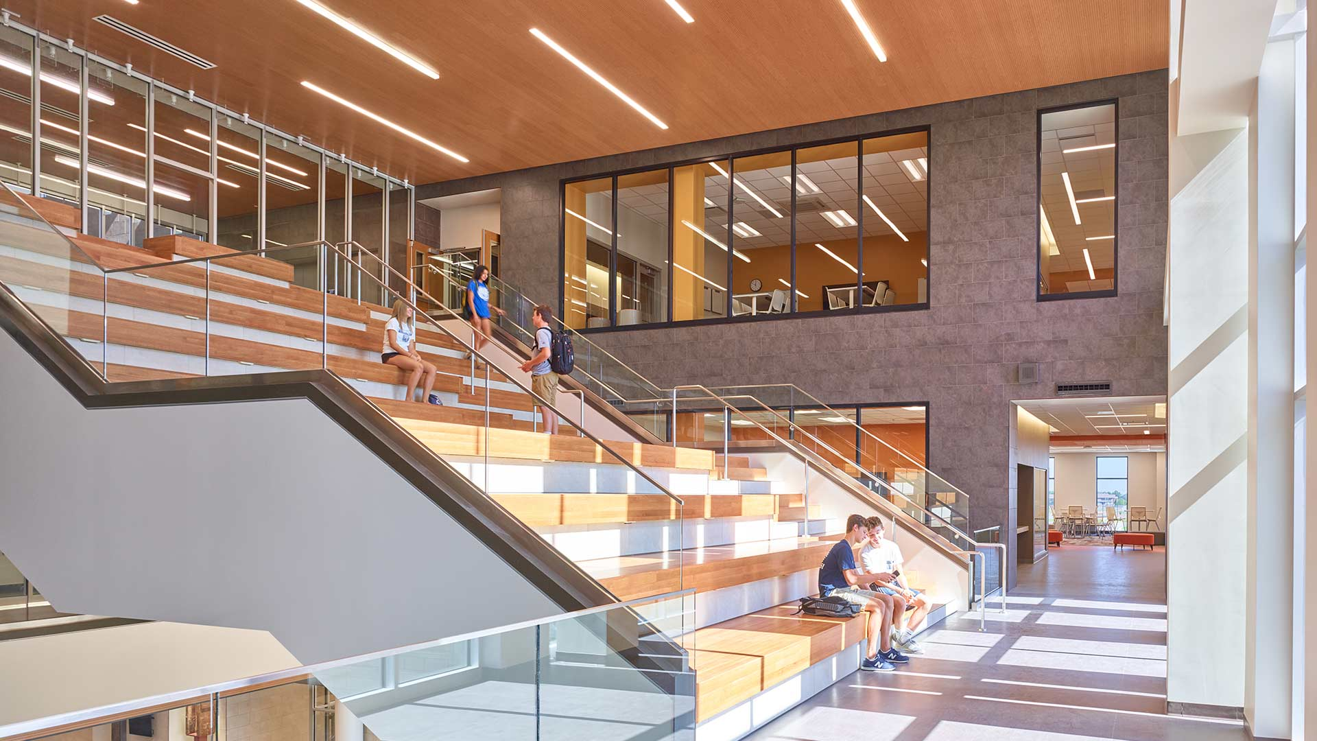 Olathe west high school hollis miller - Architecture and interior design schools ...