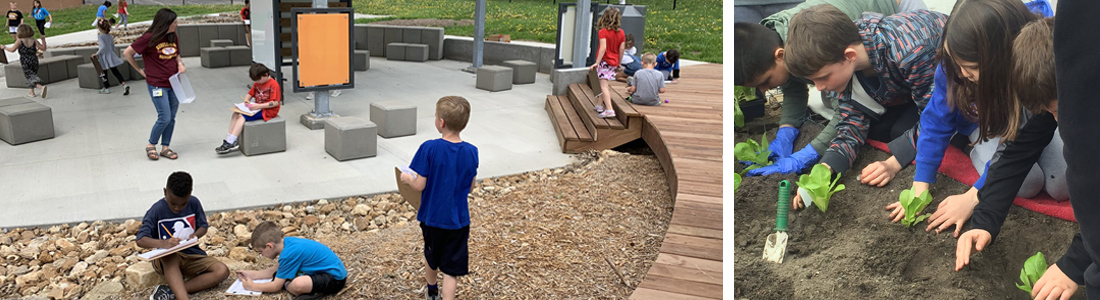 Hollis + Miller donates annual Learnscape outdoor learning environment to Sunflower Elementary