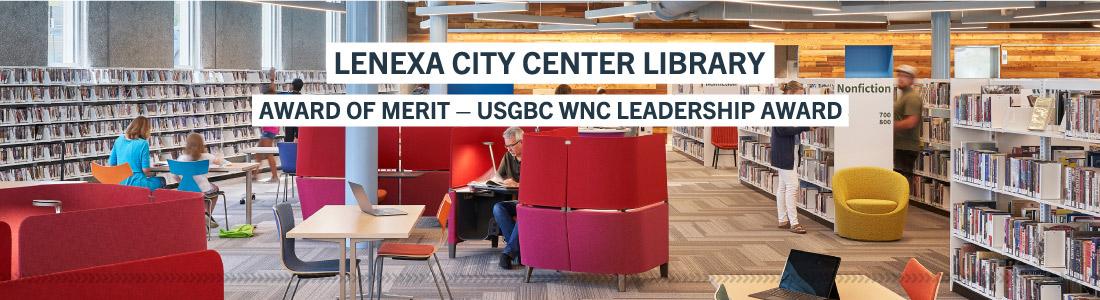Lenexa City Center Library award
