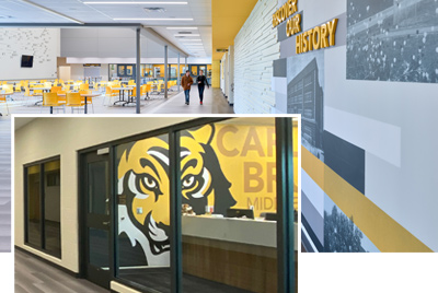 Carl Bruce Middle School Graphics